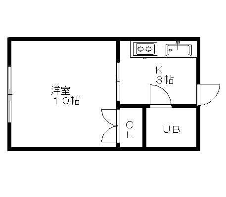 洋室10帖でこの家賃!かなりお徳です!