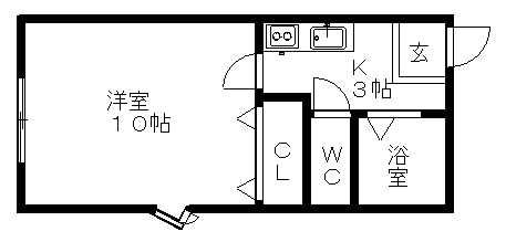 洋室10帖のおすすめの洋室です!