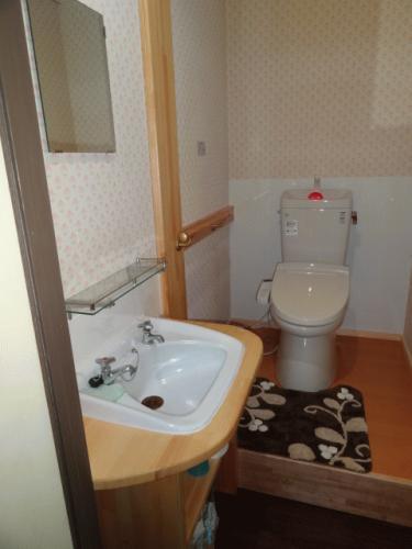 共有トイレ!