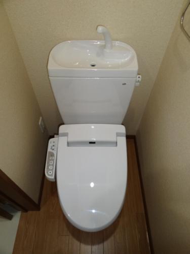 洗浄トイレ♪