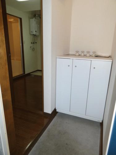 玄関の靴箱です。