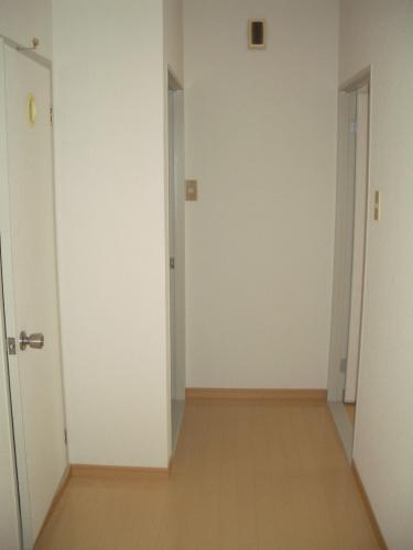 廊下部分です!こんな感じでトイレ、脱衣所へいきます!