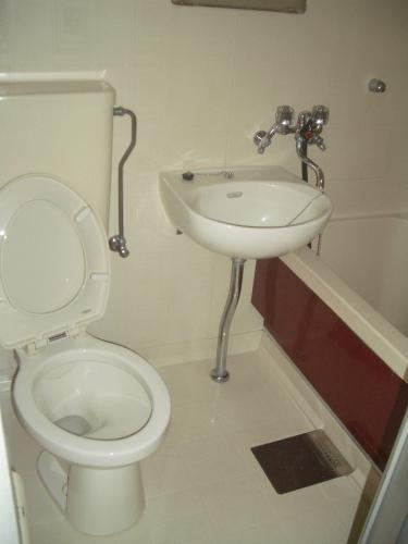 バス・トイレは一緒のタイプです。