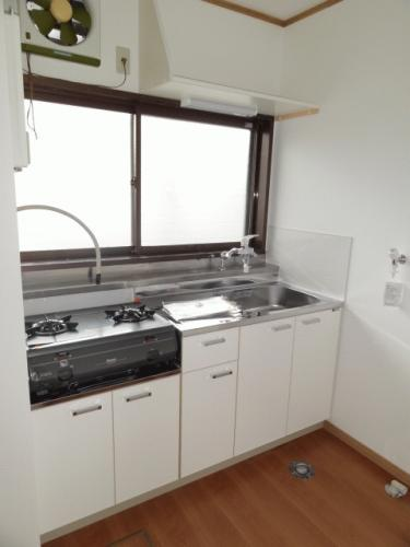 キッチンです♪新しいものに入れ替えました!