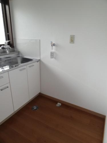 洗濯機置き場です♪