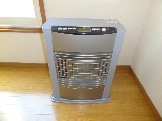 暖房は灯油の自動配管済み!