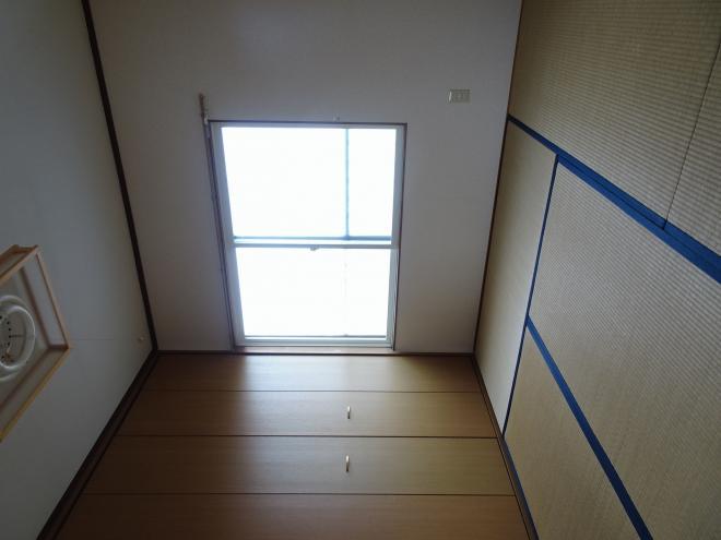和室です。収納が大きくて便利♪
