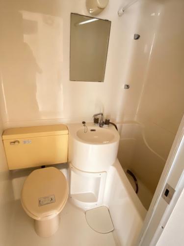 バス・トイレは一緒のタイプです♪